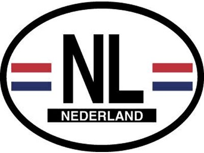NL Car Sticker