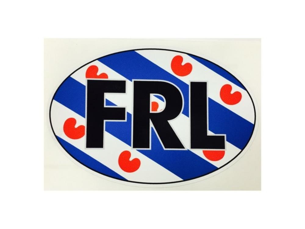 FRL Friesland car sticker