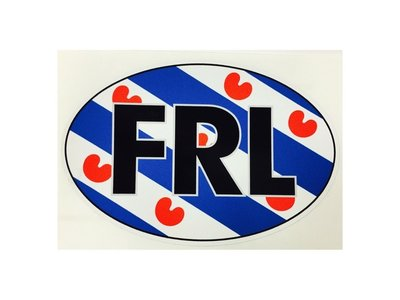 FRL Friesland car sticker
