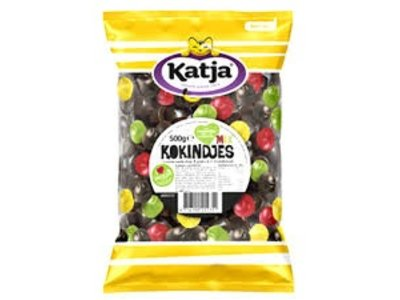 Katja Katja Mixed Licorice and fruit gums Kokindjes 17.5 oz