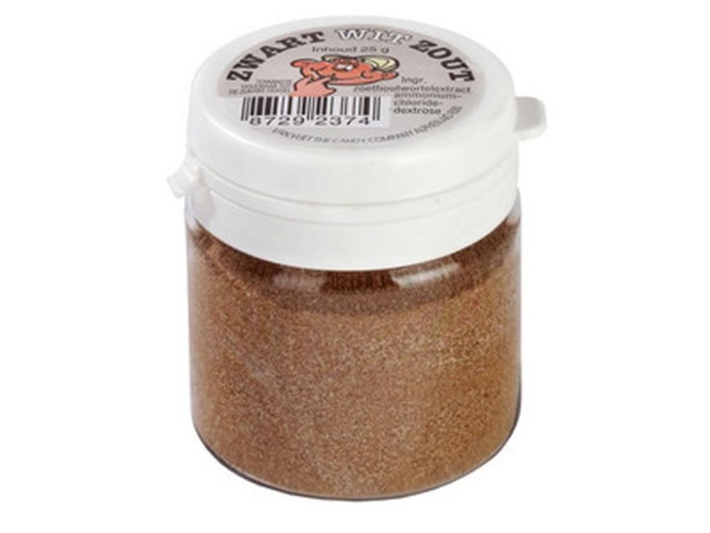Kindlys Salty Black & White Powder 1 Oz Jar