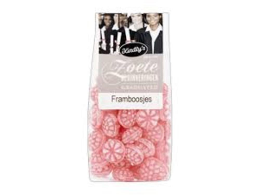 Kindlys Kindlys Raspberry Hard Candies 7 Oz Bag
