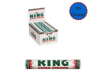King King Peppermint Extra Strong - 36 Roll Box