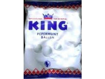 King King Peppermint Balls Bag 8 oz