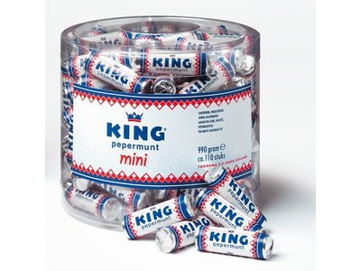 King King Mini Roll Drum 110 Count Tub