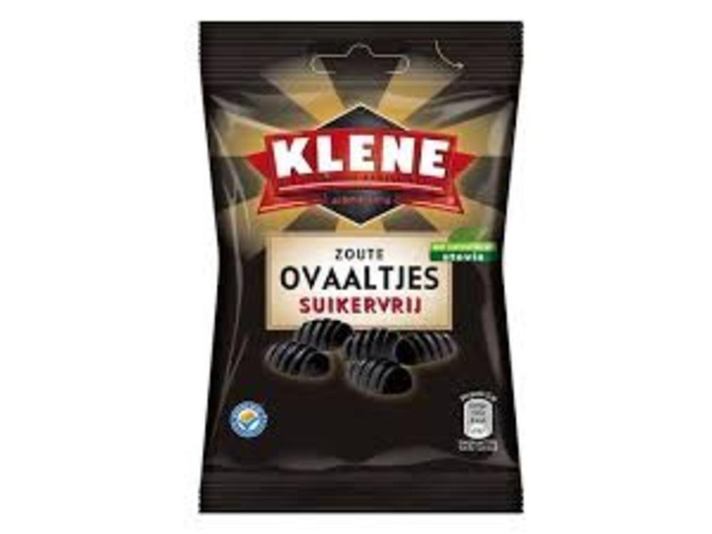 Klene Klene Sugar Free Salty Ovals 3.5 oz bag