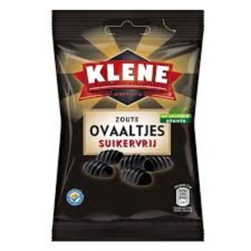 Klene Klene Sugar Free Salty Ovals 3.5 oz bag