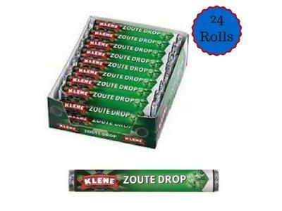 Klene Klene Zout Drop Roll 24 count box