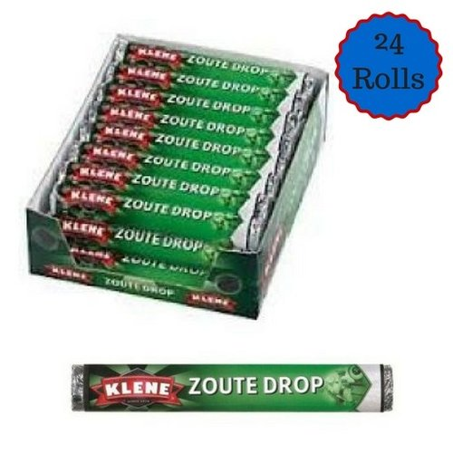Klene Klene Zout Drop Roll 24 count box Dated April 2020