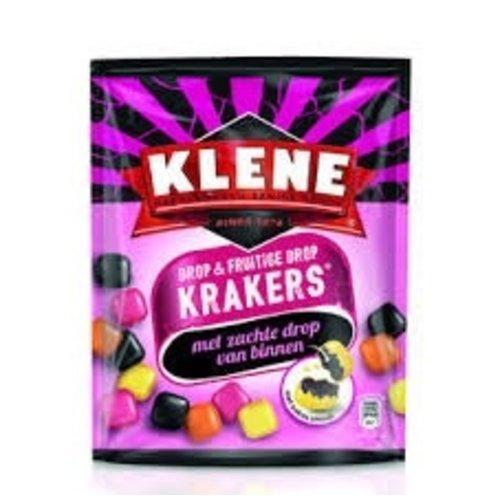 Klene Klene Krakers Licorice & Fruits  7 oz bag DATED