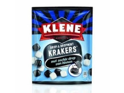 Klene Klene Krakers Licorice & Mint  7 oz bag