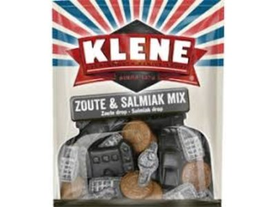 Klene Klene Zoute & Salmiak Mix 300g