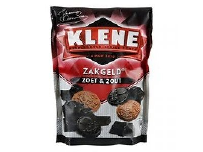 Klene Klene Zakgeld ASST Licorice 8.8 oz