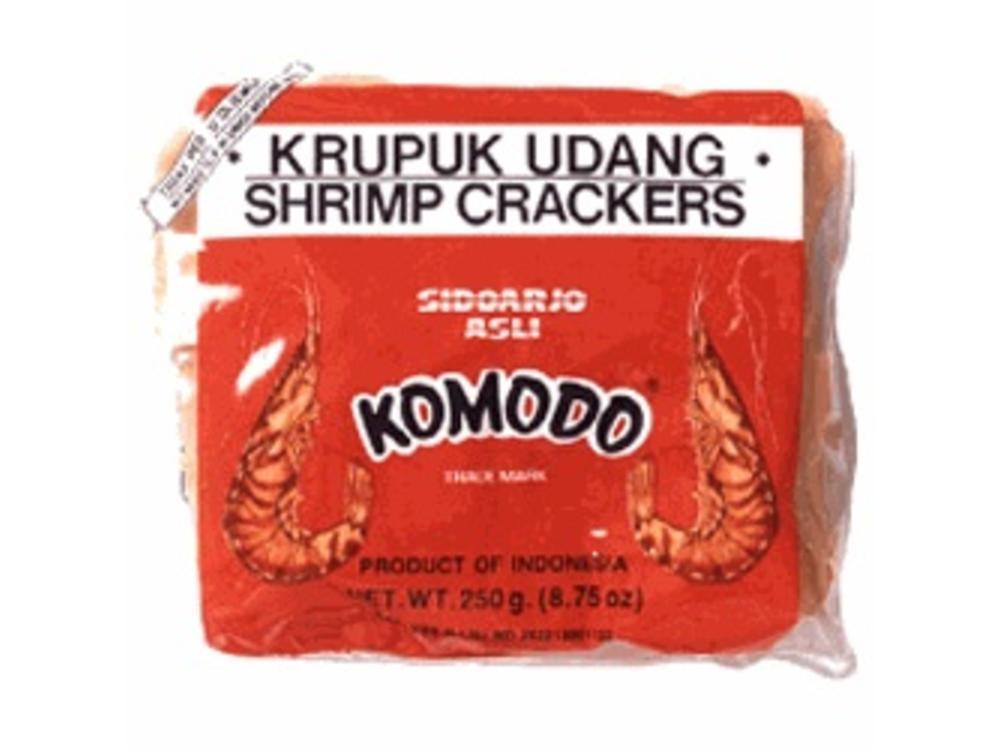 Komodo Komodo Krupuk Udang Shrimp Cracker Raw Medium 8.75 Oz