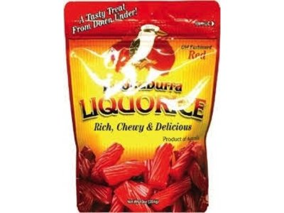 Kookaburra Kookaburra Red Licorice 10 oz bag