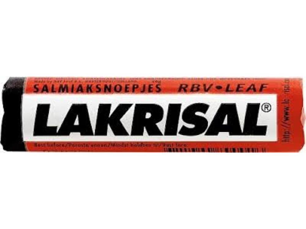 Lakrisal Lakrisal Salmiak Licorice Roll .9 oz