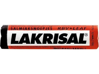 Lakrisal Lakrisal Salmiak Licorice Roll .9 oz