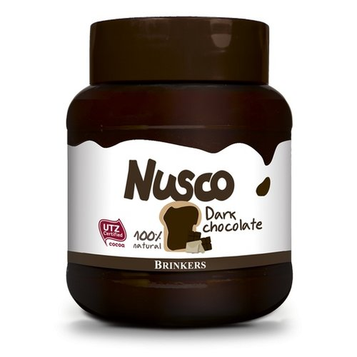 Nusco Nusco Dark Chocolate spread 14 oz jar