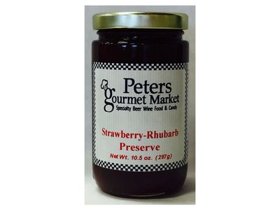 Peters Strawberry - Rhubarb Preserve