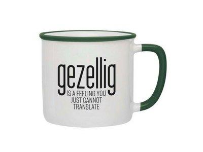 Gezellig is a feeling Mug - Green