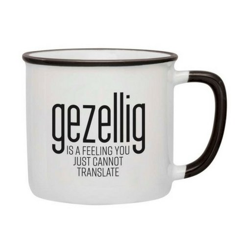 Gezellig is a feeling Mug - Black