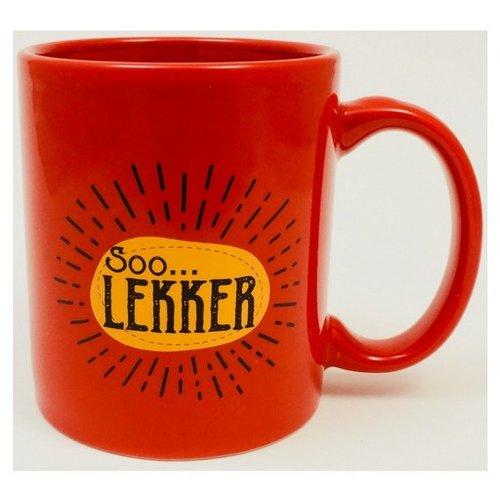 Soo Lekker Coffee Mug Red