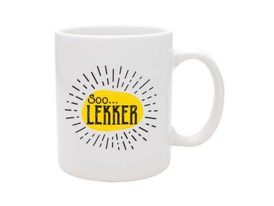 Soo Lekker Coffee Mug - White