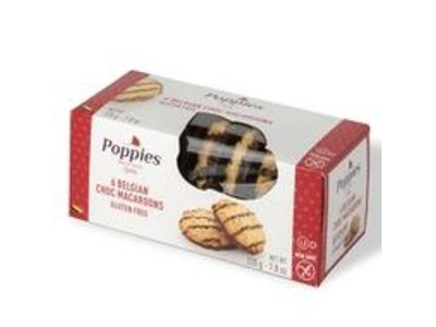 Poppies Poppies Chocolate Coconut Macaroons 7.8 oz