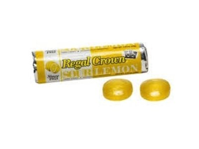 Regal Crown Regal Crown Sour Lemon Candy