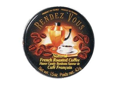 Rendez Vous Rendez Vous Coffee Candy 1.5oz Tin 12/cs