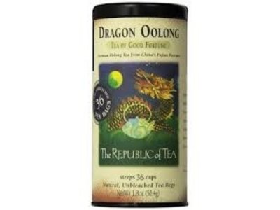 Republic Of Tea Republic Dragon Oolong Tea 36 Ct