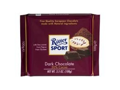 Ritter Ritter Dark Chocolate