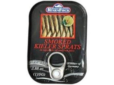 Rugenfisch Rugenfisch Smoked Kieler Sprats 3.88 oz In Tin d/c
