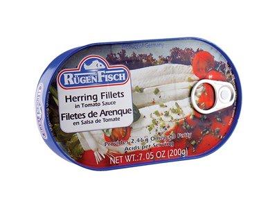 Rugenfisch Rugenfisch Herring Fillet Tomato Tin