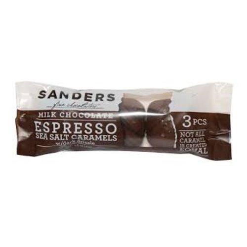 Sanders Sanders 3 pc Milk Espresso caramel 1.5 oz