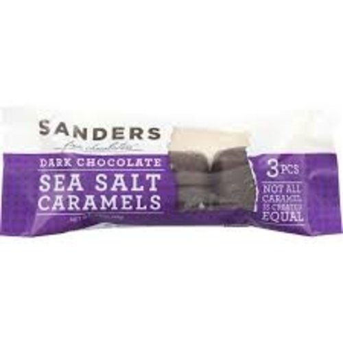 Sanders Sanders 3 pc SS Dark caramel bar 1.5 oz