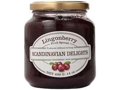 Scandian Delight Lingonberry Danish Spread