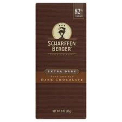 Scharffen Berger Extra Dark 82%