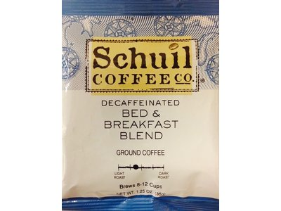 Schuil Schuil Coffee Bed & Breakfast Decaf 1.25 Packet
