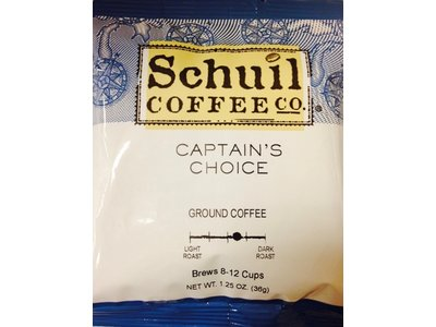 Schuil Schuil Coffee Captains Choice 1.25 Oz Packet