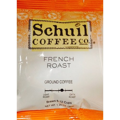 Schuil Schuil Coffee French Roast 1.25 Oz Packet