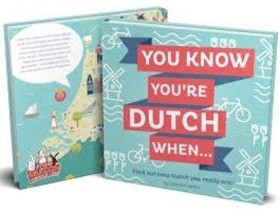 SDPL Stuff Dutch You Know You're Dutch When - Book