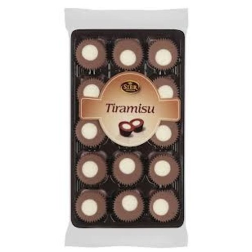 Tiramisu Chocolate Cups 4.4 oz Tray