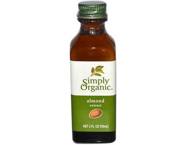 Simply Organic Almond Extract Bottle