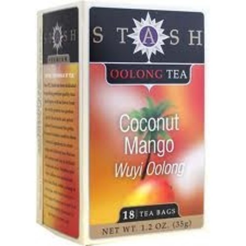 Stash Stash Coconut Wuyi Oolong Black Tea 18 ct