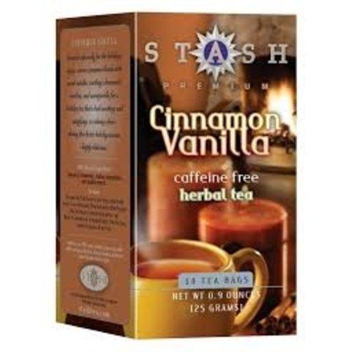 Stash Stash Cinnamon Vanilla Caffeine Free Tea 18 ct