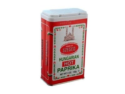 Szeged Szeged Hot Paprika Spice 4 oz Tin