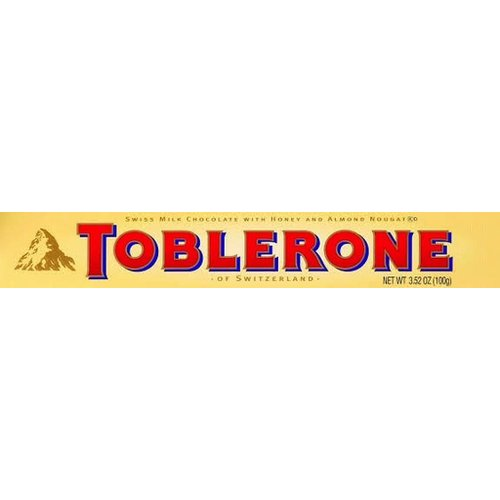Toblerone Toblerone Milk Chocolate Bar 3.5 Oz 20/cs