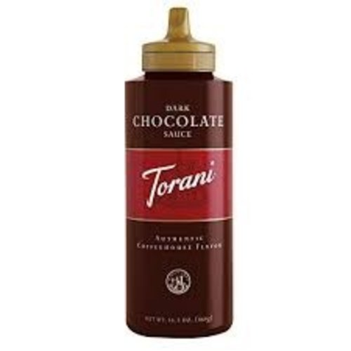 Torani Torani Dark Chocolate Sauce Squeeze Bottle 16.5 Oz