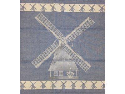 Twentse Twentse Tea Towel Large Mill Blue 25x23 inch